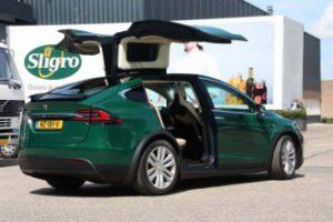 car wrapping aalsmeer tesla